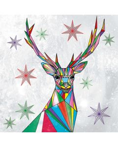 Matthew Williamson Christmas Cards, Stag Pack of 5