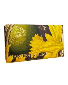 The English Soap Company Kew Gardens Narcissus Lime Soap Bar