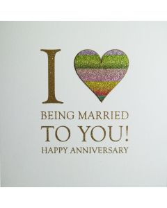 I Love Being Married to You! Happy Anniversary - #NE11