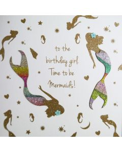 To The Birthday Girl. Time to be Mermaids! - #NE42