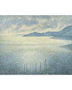 Portfolio, National Gallery Greeting Card Coastal Scene by Rysselberghe