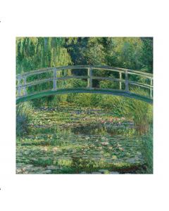Portfolio, National Gallery Greeting Card The WaterLily Pond by Monet