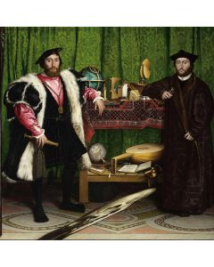 Portfolio, National Gallery Greeting Card The Ambassadors by Holbein