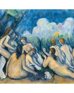 Portfolio, National Gallery Greeting Card Bathers, Les Grandes Baigneuses by Cezanne