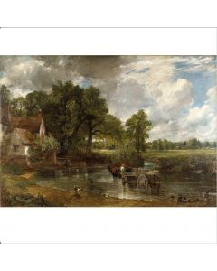 Portfolio, National Gallery Greeting Card The Hay Wain by Constable,