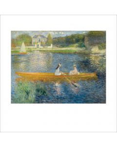 Portfolio, National Gallery Greeting Card The Skiff by Renoir 1875