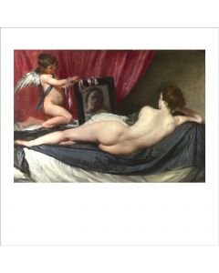 "Portfolio, National Gallery Greeting Card The Toilet of Venus (""The Rokeby Venus"") by Velazquez"