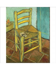 Portfolio, National Gallery Greeting Card Chair by Van Gogh, 1888