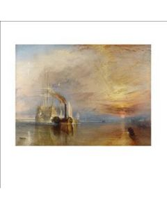 Portfolio, National Gallery Greeting Card The Fighting Temeraire 1839, by Turner
