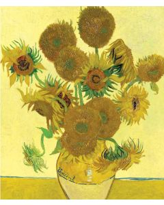 Portfolio, National Gallery Greeting Card Sunflowers by Van Gogh