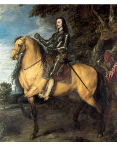 Portfolio, National Gallery Greeting Card Equestrian Portrait of Charles 1 by Van Dyck