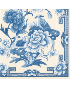 Blue and White - 4 Napkins for Decoupage