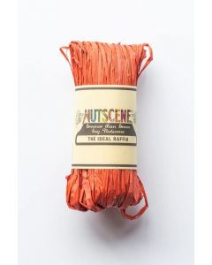 Nutscene Raffia Orange Rust 50g