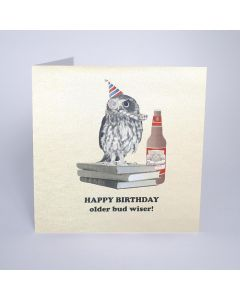 Five Dollar Shake Birthday Card Happy Birthday Older Bud Wiser