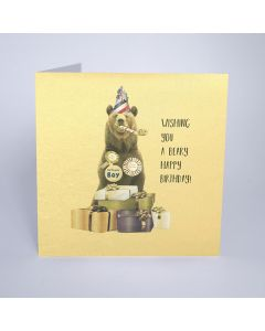 Five Dollar Shake Birthday Card Wishing you a Beary Happy Birthday