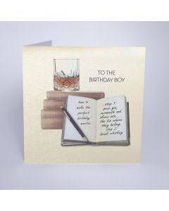 Five Dollar Shake Birthday Card To The Birthday Boy - Perfect Martini