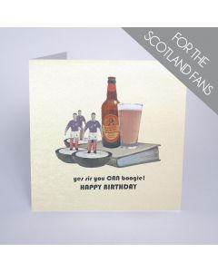 Five Dollar Shake Birthday Card Yes Sir, You CAN Boogie - Happy Birthday