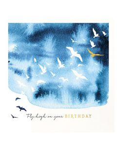 The Art File Natural Phenomenon Birthday Card Fly High on Your Birthday
