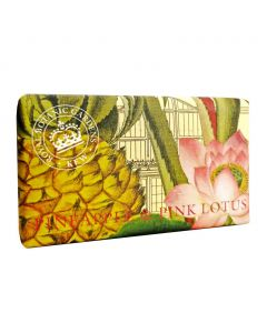 The English Soap Company Kew Gardens Pineapple and Pink Lotus Soap Bar