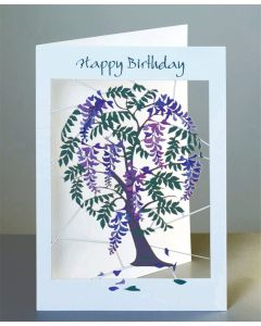 Forever Cards Laser Cut Birthday Card Hare