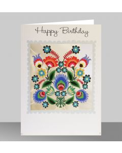Forever Cards Laser Cut Birthday Card Blossoms