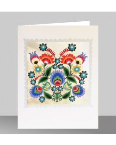 Forever Cards Laser Cut Blank Card Blossoms