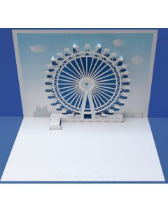 Forever Cards Pop Up Iconic Building Card London Eye