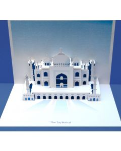 Forever Cards Pop Up Iconic Building Card The Taj Mahal