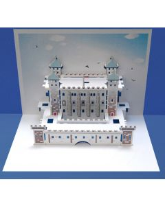 Forever Cards Pop Up Iconic Building Card Tower of London