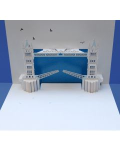 Forever Cards Pop Up Iconic Building Card Tower Bridge