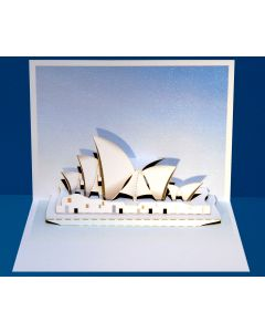 Forever Cards Pop Up Iconic Building Card Sydney Opera House