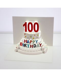 Forever Cards Pop Up Birthday Card 100th Birthday