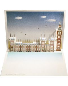 Forever Cards Pop Up Iconic Building Card Houses of Parliament