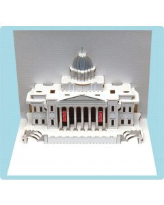 Forever Cards Pop Up Iconic Building Card National Gallery