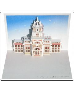 Forever Cards Pop Up Iconic Building Card Victoria & Albert Museum
