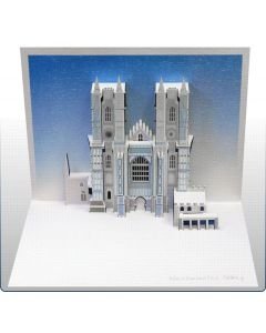 Forever Cards Pop Up Iconic Building Card Westminster Abbey