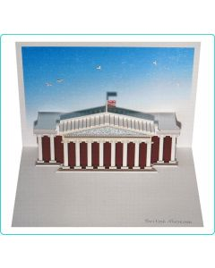 Forever Cards Pop Up Iconic Building Card British Museum