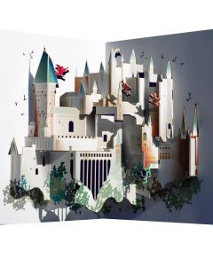Forever Cards Pop Up Blank Card Wizard's Castle