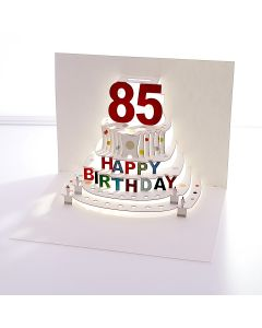 Forever Cards Pop Up Birthday Card 85th Birthday