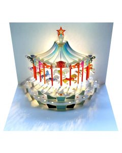 Forever Cards Pop Up Birthday Card Carousel