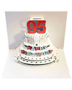 Forever Cards Pop Up Birthday Card 95th Birthday