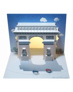 Forever Cards Pop Up Iconic Building Card Arc de Triomphe