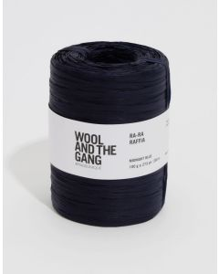 Midnight Blue Raffa - Wool and The Gang Ra Ra Raffia