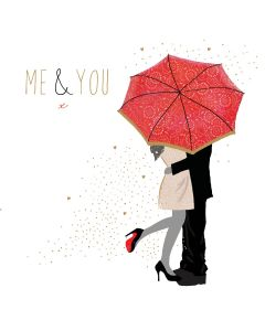 Sara Miller London, Valentine's Day Card  Me and You