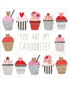 The Art File Sara Miller London Card Valentine's Day Card  You Are My Favourite