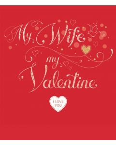 T'Too Valentine's Day Card Golden Wife Valentine