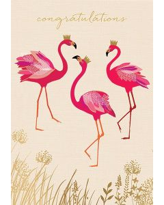 Sara Miller London - Congratulations Flamingo - SAM32