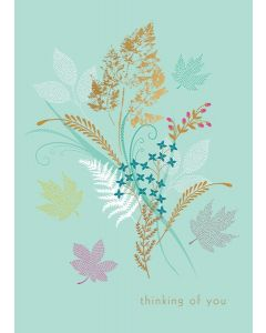 Sara Miller London Sympathy Card, Thinking of You Greetings
