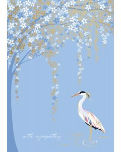 Sara Miller London Sympathy Card With Sympathy