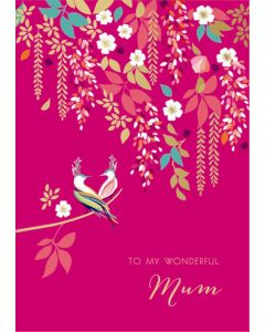 Sara Miller London Mother's Day Card, To My Wonderful Mum